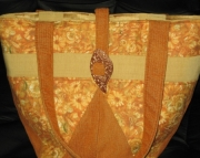 Peach & Gold Bag