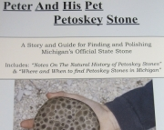 Peter  His Pet Petoskey Stone