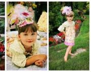 Vintage Cupcake Matilda Top, Sizes 0-6 Months
