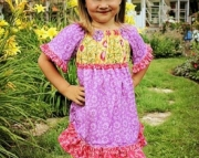 Autumn Sunset Ava Dress, sizes 12 mos.-2T