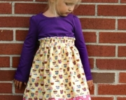 Cupcake Party Tiffany Dress, 2t, 3t