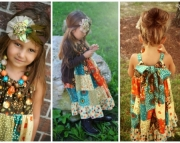 Thanksgiving Claire Dress, Sizes 12-18 Months