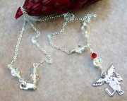 Licensed Practical Nurse Sterling Silver Charm Necklace