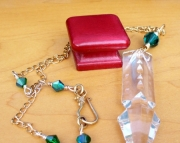 Crystal Chandelier Drop Necklace