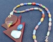 Chevron Artsy Necklace Set