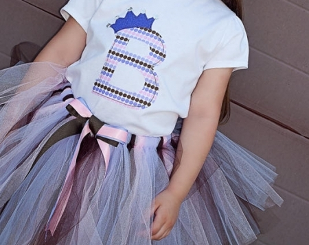 Girls Top & Tutu Set
