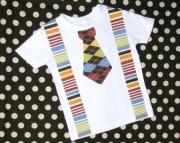 Tie & Suspenders Onesie