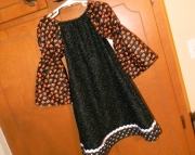 Halloween Peasant Dress