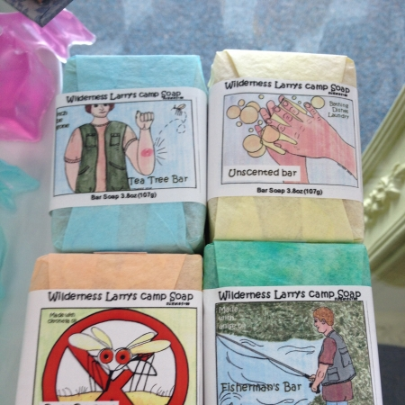 Wilderness Larry Camp Soaps