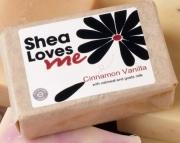 Cinnamon Vanilla Shea Soap