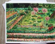 From Monets Window - Note Card