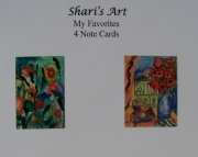 My Favorites - 4 Note Cards
