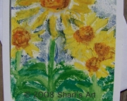 Sunflowers - 4 Note Cards