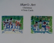 Christmas - 4 Note Cards