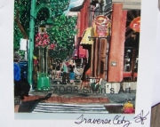 Traverse City Michigan  Note Card
