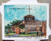 St. Anns, Cadillac, Michigan - Note Card