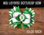 Michigan State University MSU bow ( or choose your school)