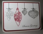 Ornamental Christmas Cards - Boxed Set of 10