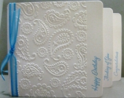 Island Blue Paisley - Boxed Variety Set of 8