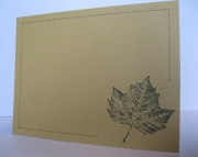 Natural Leaf - Boxed Set of 10