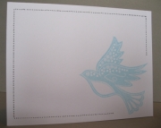 Blue Bird Notecards - Boxed Set of 10