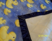 Baby Blanket with Ducks