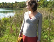 Fall 2011 Wool Lotus Top