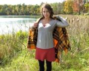 Fall 2011 Wool Lotus Top