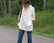 Hemp and Organic Cotton Brook Top