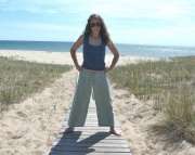 Hemp Linen Drawstring Pants