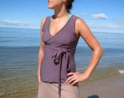 Organic Cotton Wrap Tank