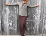 Fall 2011 Woolen Maxi Skirt