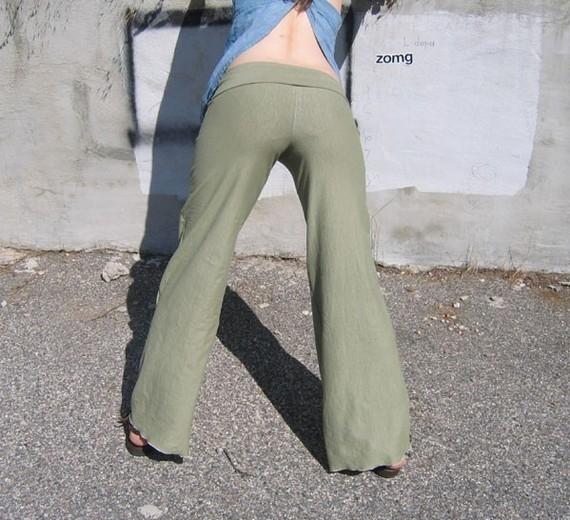 Hemp And Organic Cotton Yoga Pants
