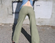 Hemp and Organic Cotton Yoga Pants