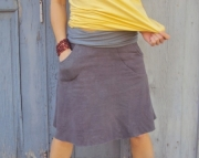 Element Pocket Skirt- Hemp/Organic Cotton Fleece