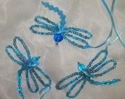 Aqua Dragonflies