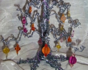 Med Sunset Glow Fairy Wishing Tree
