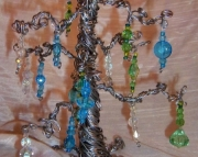 Med Shimmer Lagoon Fairy Wishing Tree