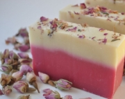 Single Pink Rose Soap