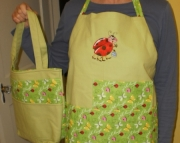 Gardening Apron and Tote Bag