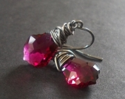 Fuchsia Forever- Earrings