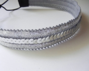 Silver Sequin Headband