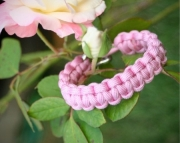 Survival Bracelet - Womens - Rose Pink - Free Shipping