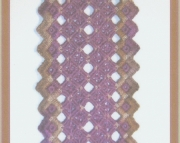 Autumn Lace Hardanger Bookmark Pattern