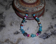Land of Enchantment Heishi Bracelet