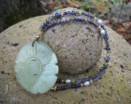 Jade Blossom Necklace