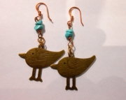 Sparrow/Stone Earrings