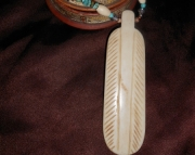 Earth & Sky Feather Necklace