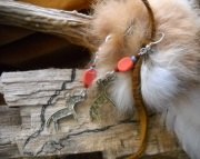 Primitive Horse Earrings