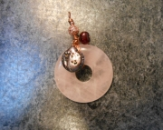 Rose Quartz & Pearls Pendant